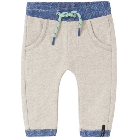 NOPPIES  Jogginghose Erwin  Off White Melange 1