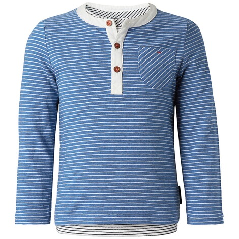 NOPPIES  Langarmshirt Eastwood  French blue melange 1