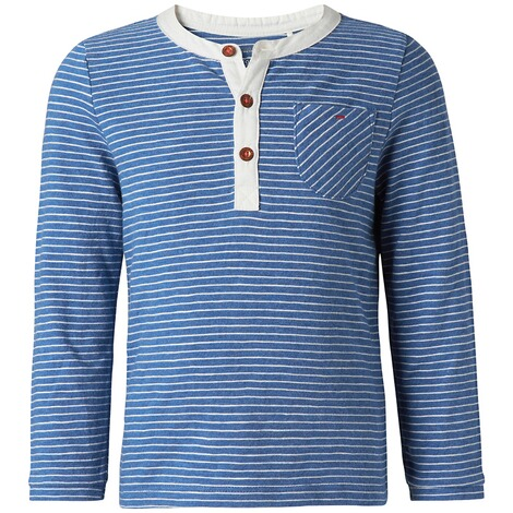 NOPPIES  Langarmshirt Eastwood  French blue melange 3