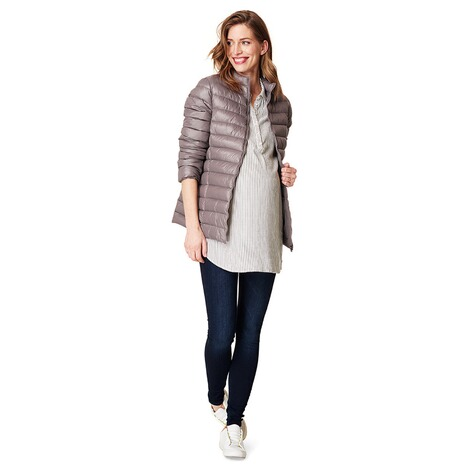 ESPRIT  Umstandsjacke Winter  Light Taupe 4