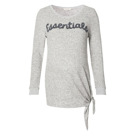 NOPPIES  Pullover Gennifer  Grey Melange 1