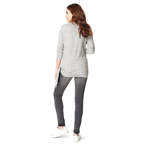 NOPPIES  Pullover Gennifer  Grey Melange 5