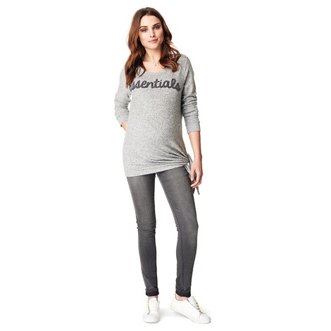 NOPPIES  Pullover Gennifer  Grey Melange 4