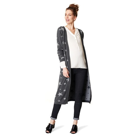 ESPRIT  Strickjacke  Light Grey Melange 4