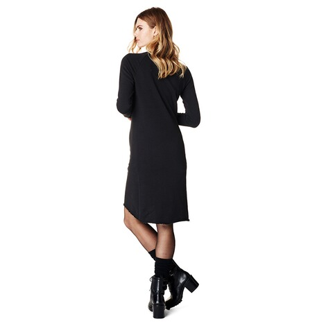 SUPERMOM  Kleid Sweat Lace Up  Black 5