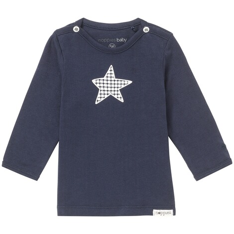 NOPPIES  Langarmshirt Monsieur  Navy 1