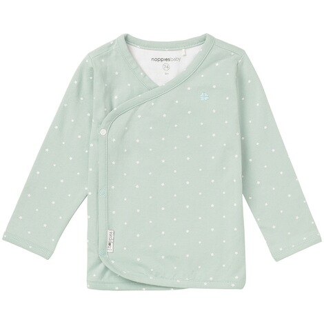 Noppies  Langarmshirt Anne  Grey Mint 1