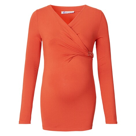 QUEEN MUM  Bluse  Orange 1