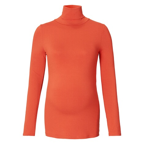 QUEEN MUM  Langarmshirt  Orange 1