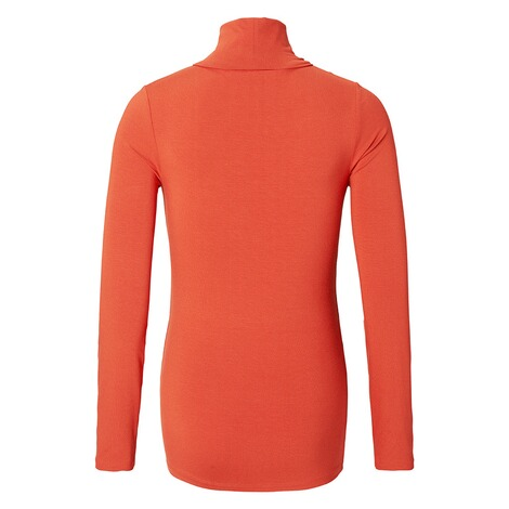 QUEEN MUM  Langarmshirt  Orange 2