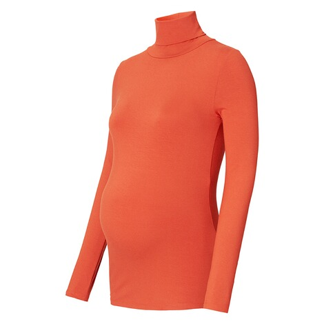 QUEEN MUM  Langarmshirt  Orange 3