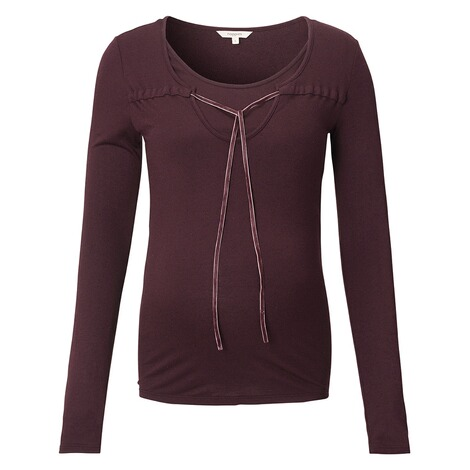 NOPPIES  Still-Shirt Ilse  Dark Purple 1