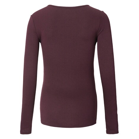 NOPPIES  Still-Shirt Ilse  Dark Purple 2