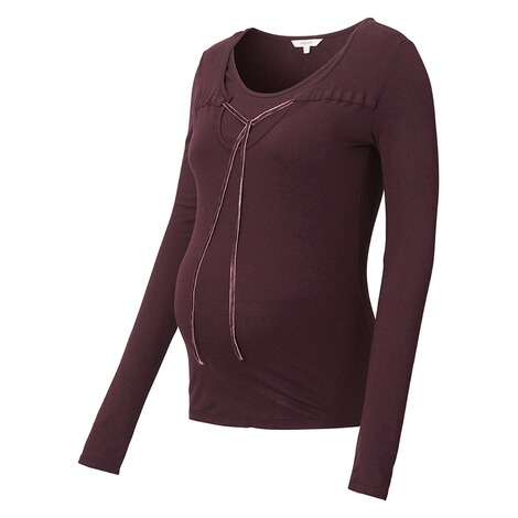 NOPPIES  Still-Shirt Ilse  Dark Purple 3