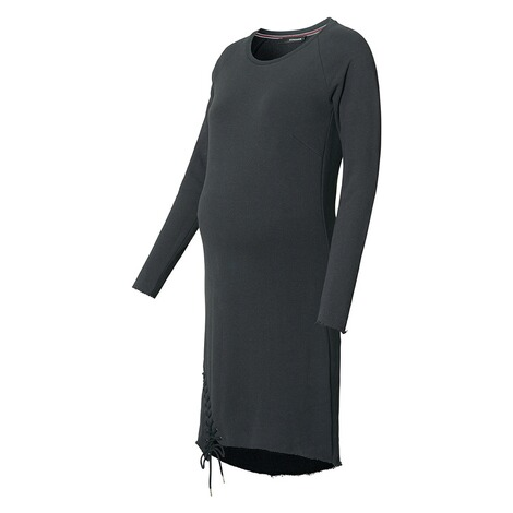 SUPERMOM  Kleid Sweat Lace Up  Black 3