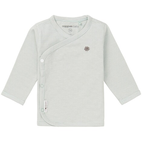NOPPIES  Langarmshirt Soly  Grey Mint 1