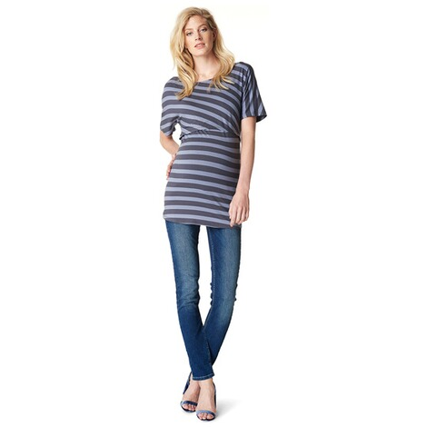 NOPPIES  Still-Shirt Alice  Blue Stripe 4