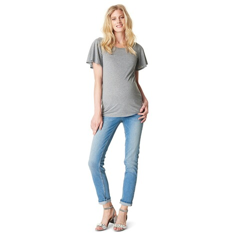 NOPPIES  T-shirt Aaf  Grey Melange 4