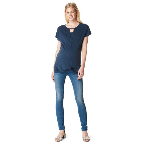 NOPPIES  Skinny Umstandsjeans Avi  Blue Denim 5