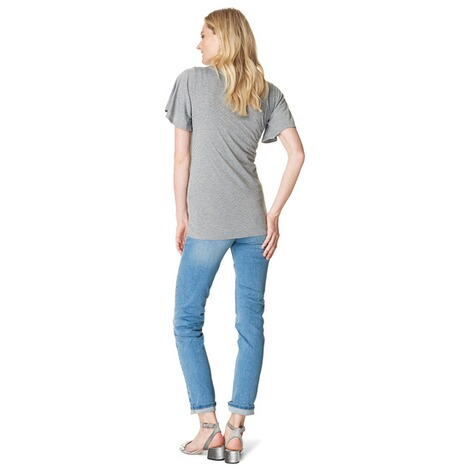 NOPPIES  T-shirt Aaf  Grey Melange 5