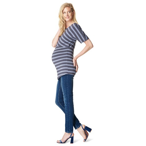 NOPPIES  Still-Shirt Alice  Blue Stripe 6