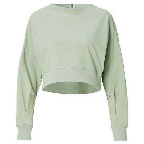 SUPERMOM  Pullover Cropped  Light Green 1