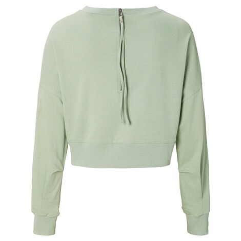 SUPERMOM  Pullover Cropped  Light Green 2