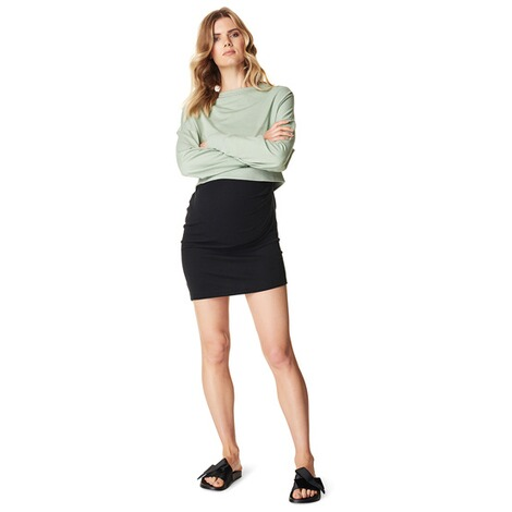 SUPERMOM  Pullover Cropped  Light Green 4