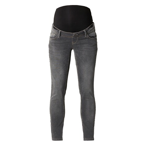 QUEEN MUM  Slim Umstandsjeans  Grey Denim 1