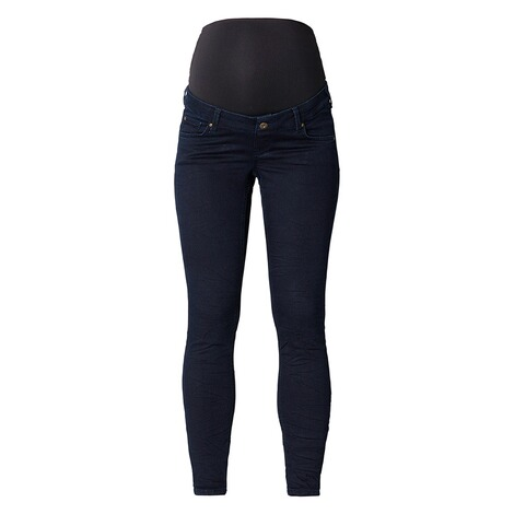 QUEEN MUM  Slim Umstandsjeans  Dark Wash 1