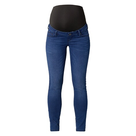 QUEEN MUM  Slim Umstandsjeans  Dark Blue 1