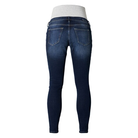 Queen Mum  Slim Umstandsjeans  Dark Wash 2