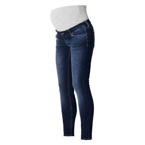 Queen Mum  Slim Umstandsjeans  Dark Wash 3