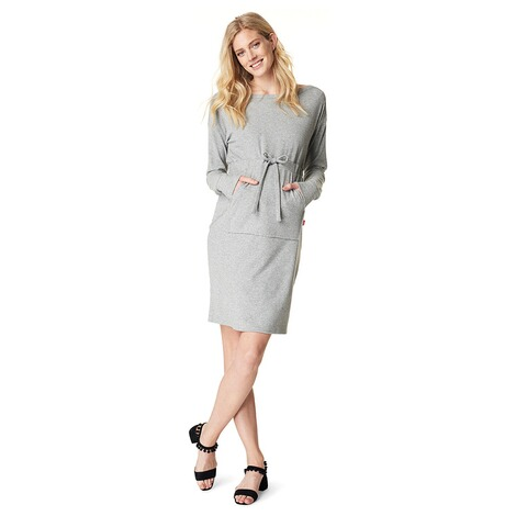 NOPPIES  Kleid Radygo  Grey Melange 4