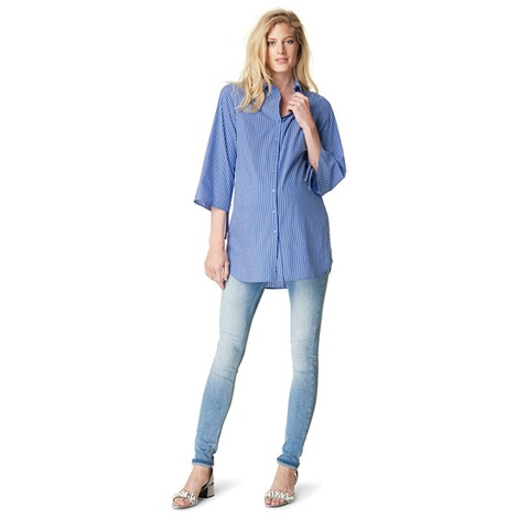 NOPPIES  Bluse Anneloe  Light Blue 7