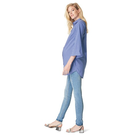 NOPPIES  Bluse Anneloe  Light Blue 9