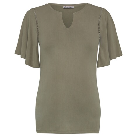 QUEEN MUM  T-shirt  Olive 1