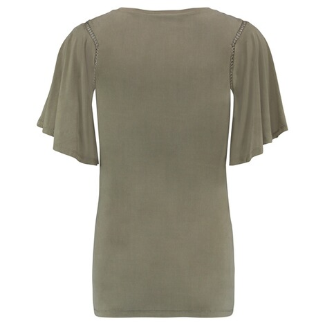 QUEEN MUM  T-shirt  Olive 2