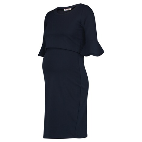 QUEEN MUM  Still-Kleid  Navy 3