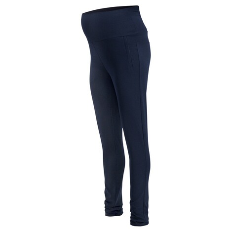 QUEEN MUM  Casual Hose  Navy 3