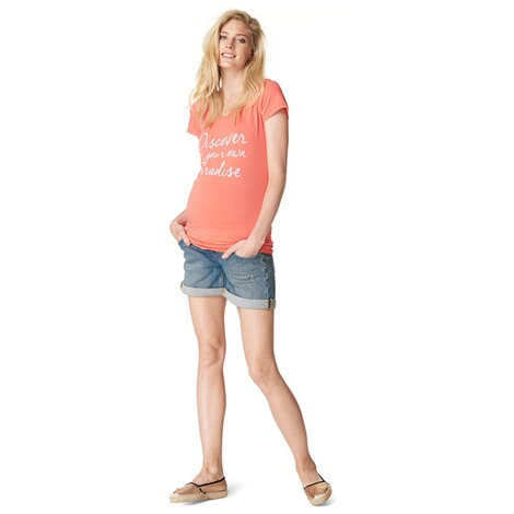NOPPIES  T-shirt Babs  Coral 5