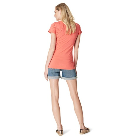 NOPPIES  T-shirt Babs  Coral 6