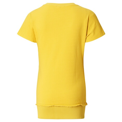 SUPERMOM  T-shirt Lace Up  Yellow 2