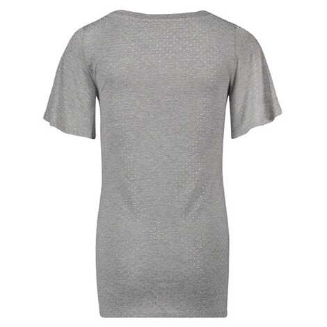 NOPPIES  T-shirt Aaf  Grey Melange 2