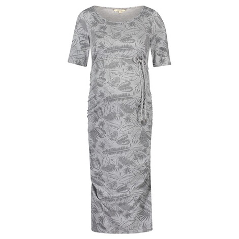 NOPPIES  Kleid Benthe  Grey Melange 1