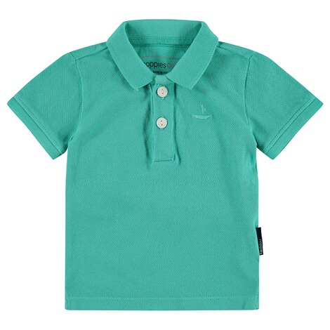 NOPPIES  Poloshirt Miami  Pale Turqoise 1