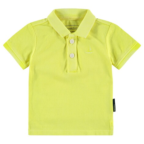 NOPPIES  Poloshirt Miami  Fluor Green 1