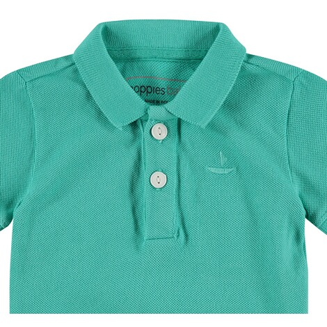 NOPPIES  Poloshirt Miami  Pale Turqoise 3
