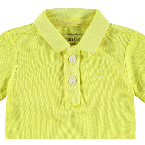 NOPPIES  Poloshirt Miami  Fluor Green 3