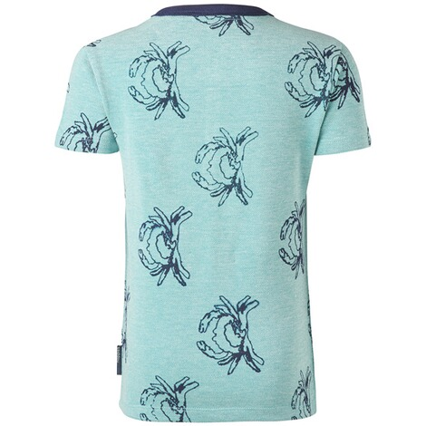 NOPPIES  T-shirt Mandeville  Pale Turqoise 2